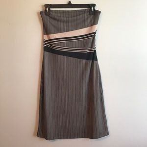 NWOT The Limited Strapless Dress
